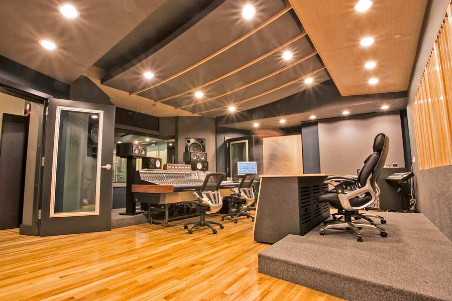 Home recording studios soundproof studios for Recording studio flooring