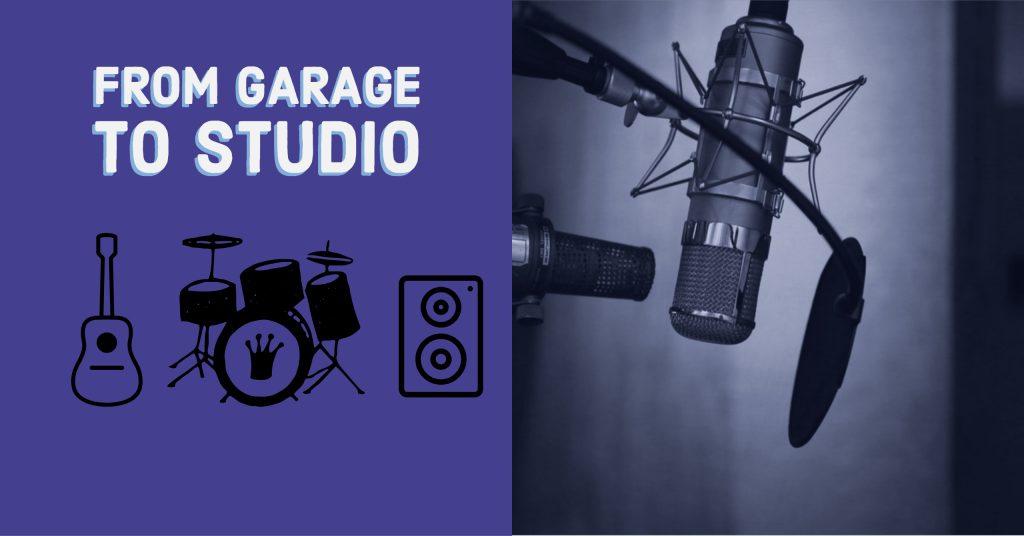 turn garage into a recording studio
