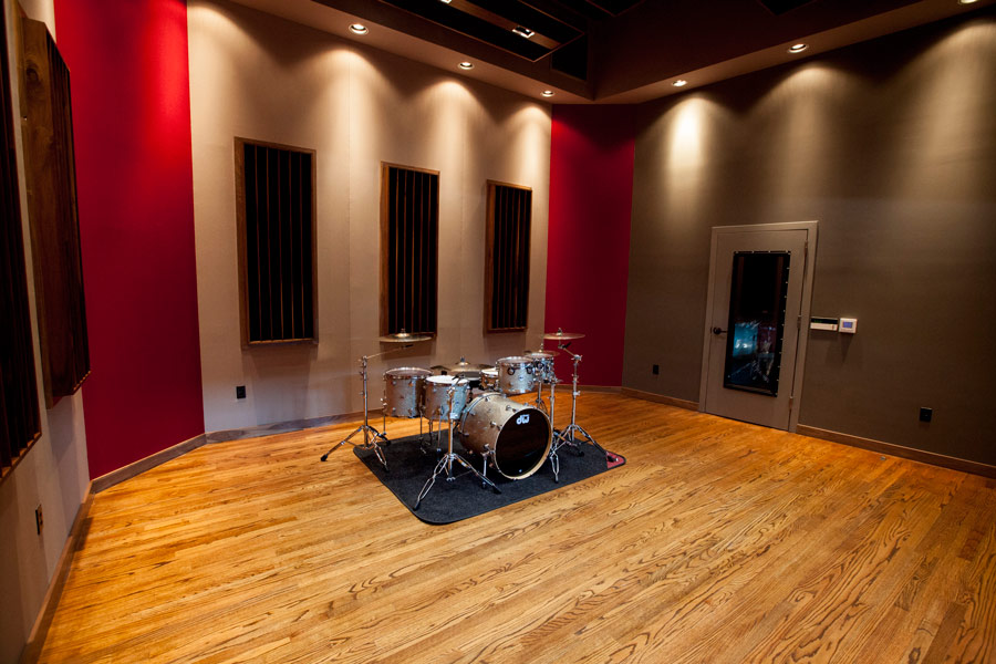 Soundproof studio