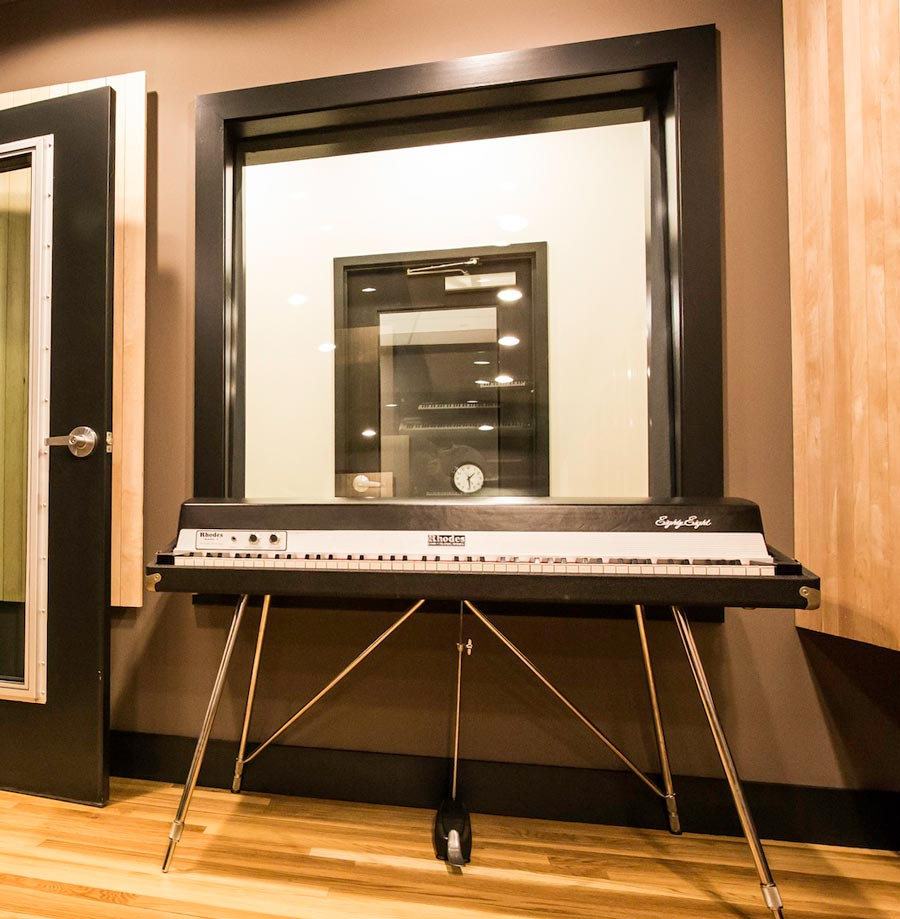 Recording Studio Windows Soundproof Studios