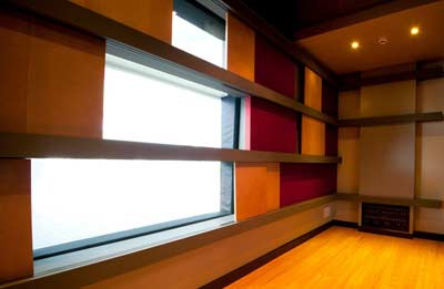 Recording Studio Windows Soundproof Studios